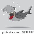 氧氣筒 水肺 鯊魚 9439187