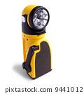 flashlight, yellow, object 9441012