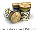 Canned olives. 9458860