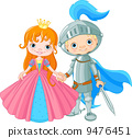 Medieval Lady and Knight 9476451