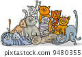 貓 貓咪 快樂 9480355
