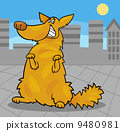 dog standing canine 9480981