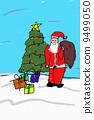圣诞老人 圣诞老公公 绘画 9499050