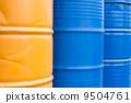 oil, drum, blue 9504761