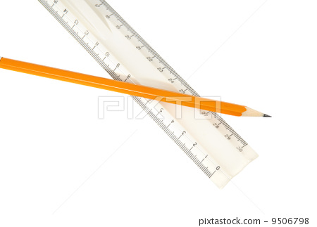 pencil and ruler 9506798