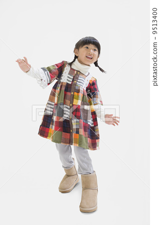 Girls with boots 9513400