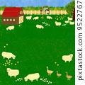 ranch, sheep, ovine 9522767