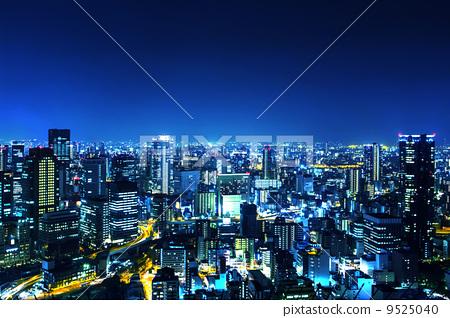 Osaka night view 9525040