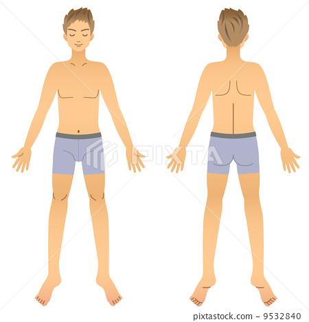 男性裸体图图 9532840