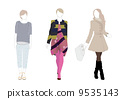 女性时装模特 9535143