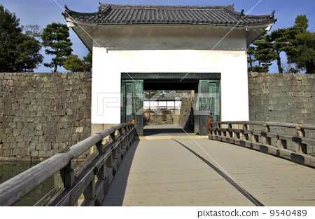 Scenery of Kyoto Nijo castle 9540489