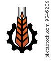 agriculture, symbol, illustration 9546209