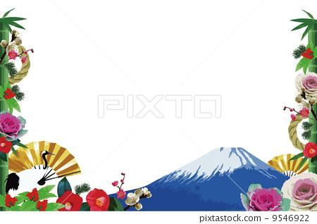 frame, japan, isolated - Stock Illustration [9546922] - PIXTA