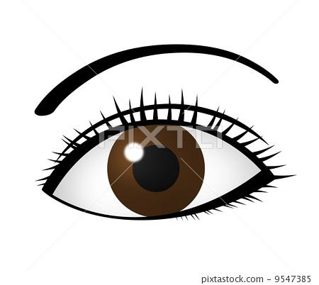 眼睛 目光 大張雙目 9547385