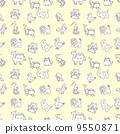 背景 动物 艺术品 9550871