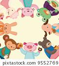 動物 吃 卡通 9552769