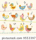 animal, chickens, background 9553397