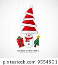 santa illustration background 9554801