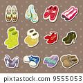 靴子 可愛的 裝飾品 9555053
