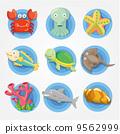 螃蟹 蟹 章鱼 9562999