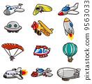 气球 汽球 飞机 9563033