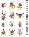 แมลง,จักจั่น,การ์ตูน 9563034