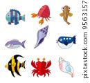 crab,catfish,loach 9563157