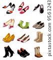靴子 裝飾品 美女 9563243