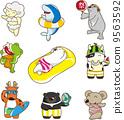 animal character illustration 9563592