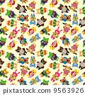 화려한, 다채로운, 만화 9563926