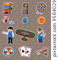 幺点 卡片 抽象 9564029