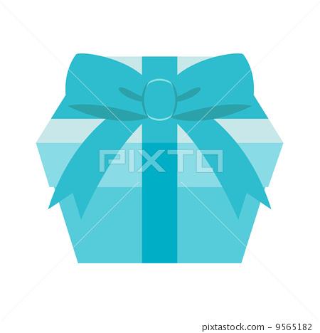 Illustration gift box ribbon 9565182
