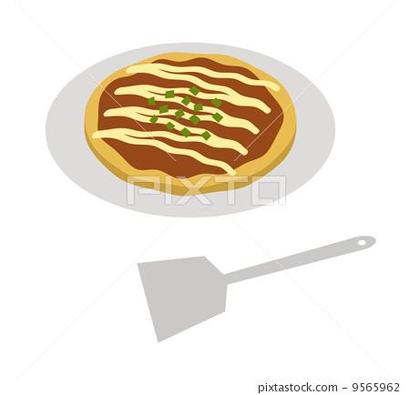 okonomiyaki, local cuisine, nori seaweed 9565962