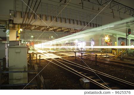 Night station _ Meitetsu Nishi-Ebisima Station No. 1 9625376