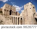 Aleppo castle in Syria 9626777