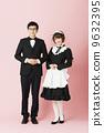 waiter, maid costume, butlers 9632395