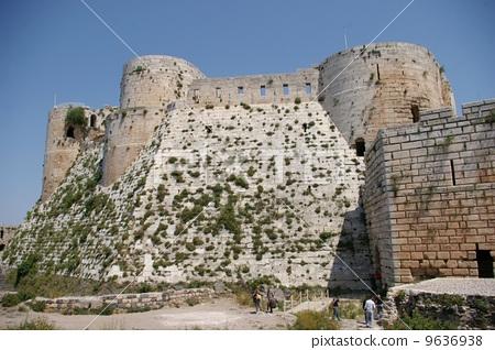 叙利亚的裂缝de Chevalier 9636938