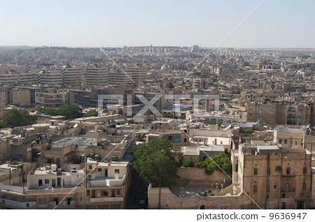 A view from the Aleppo castle 9636947