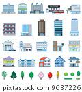 各种建筑物 9637226