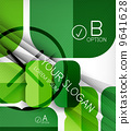 Infographic abstract background 9641628