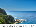 The East China Sea wished from Sata Cape 9658371