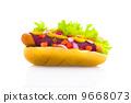 mustard, hotdog, hot 9668073