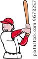 擊球手 擊球 卡通 9678257