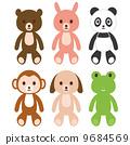 玩偶 填充玩具 毛绒玩具 9684569