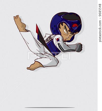 taekwondo martial art 9685548