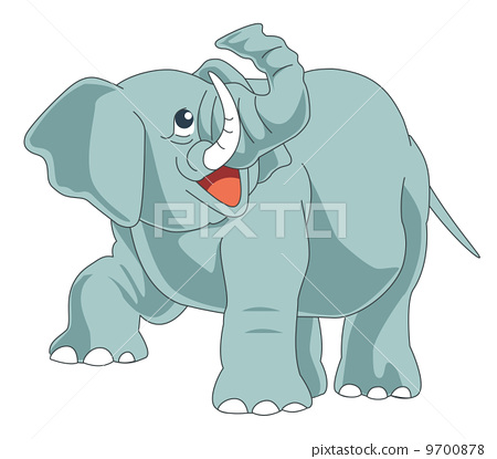 Elephant illustration 9700878