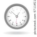hour round clock 9711451