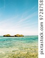 蓝天,大海和岛屿 9728758