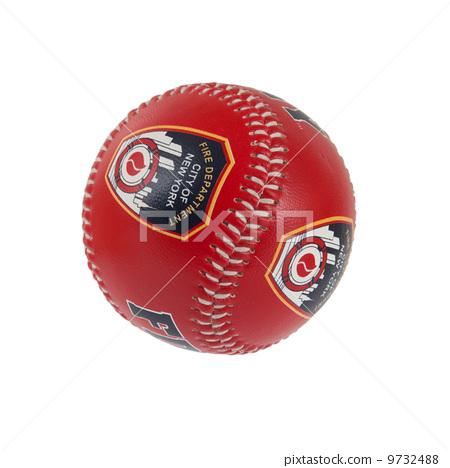 Stock Photo: Baseball isolated on white