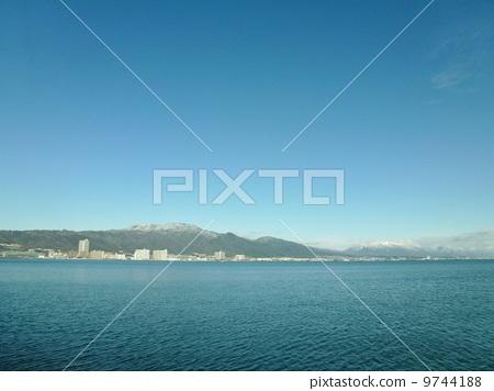 滋賀·琵琶湖和Hiei山 9744188